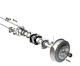 Volvo 220: rear axle, drive axle