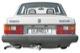 Volvo 200: Heck