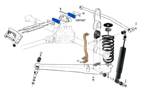 1998 volvo s70 rear suspension diagram