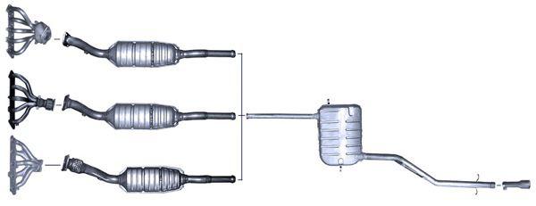 on 1998 Volvo S70 Vacuum Hose Diagram