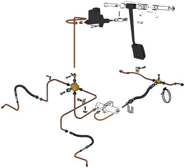 skandix installation picture volvo 120 130 220 brake lines rh skandix de