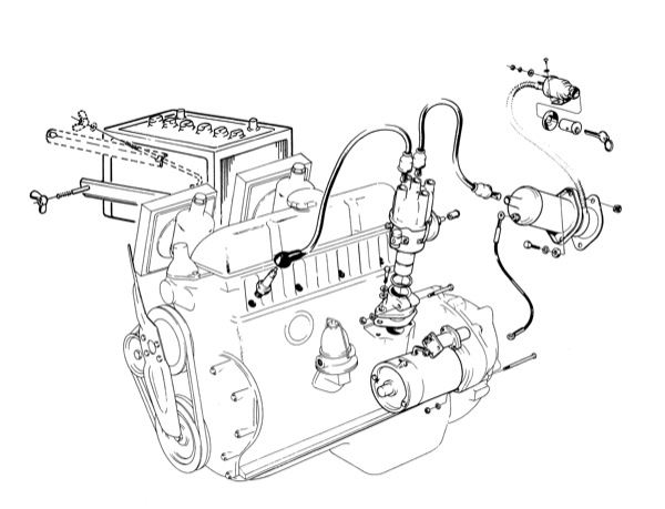 Volvo P1800 Ignition Wiring Diagram