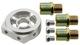Ölfilter-Adapter, Öldruckschalter / Öltemperatursensor