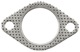 Gasket, Exhaust pipe 1271480 (1000171) - Volvo 164, 200, 700, 900