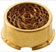 Flame trap, Crankcase breather Brass  (1000611) - Volvo 200, 300, 700, 900