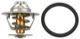 Thermostat, Coolant 92 °C 271664 (1000923) - Volvo 850, 900, C70 (-2005), S40 V40 (-2004), S60 (-2009), S70 V70 (-2000), S80 (-2006), S90 V90 (-1998), V70 P26, V70 XC (-2000), XC70 (2001-2007)
