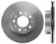 Brake disc Front axle internally vented 31262100 (1000941) - Volvo 700, 900