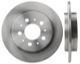 Brake disc Rear axle non vented 1359290 (1000944) - Volvo 700, 900