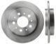 Brake disc Rear axle non vented 1359290 (1000944) - Volvo 700, 900