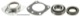 Radlager Hinterachse für links und rechts passend  (1001227) - Volvo 120 130 220, P1800, PV