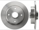 Brake disc Rear axle non vented  (1001291) - Volvo 400