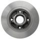 Brake disc Rear axle non vented