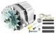 Generator 55 A 12V 5001612 (1001688) - Volvo 120 130 220, 140, 164, 200, P1800, P1800ES, P210, PV