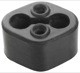 Rubber mount, Silencer 1206468 (1002839) - Volvo 200, 400