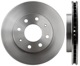 Brake disc Front axle internally vented 30872926 (1002934) - Volvo S40 V40 (-2004)