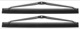 Wiper blade, Headlight cleaning Kit for both sides 274430 (1002938) - Volvo 300, 700, 900