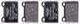 Bremsbelagsatz Hinterachse 30793802 (1002981) - Volvo 850, C70 (-2005), S70 V70 (-2000)