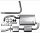1003693 Exhaust system from Catalytic converter