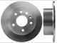 Brake disc Rear axle non vented 4241477 (1003833) - Saab 900 (1994-)