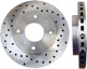 Brake disc Front axle perforated/ internally vented Sport Brake disc 30872926 (1004291) - Volvo S40 V40 (-2004)