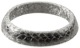 Seal ring, Exhaust pipe 3461078 (1004611) - Volvo 400