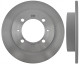 Brake disc Rear axle non vented 30872940 (1005618) - Volvo S40 V40 (-2004)