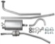 Exhaust system from Manifold  (1005763) - Volvo 120 130