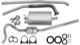 Exhaust system from Manifold  (1005764) - Volvo 120 130