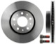Brake disc Front axle 31262209 (1006142) - Volvo 700, 900