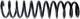 Fahrwerksfeder Hinterachse  (1007183) - Volvo V40 (-2004)