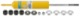 Stoßdämpfer Vorderachse Gasdruck B6 Sport 276552 (1007499) - Volvo 120 130 220, P1800, P1800ES