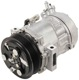 Compressor, Air conditioner 12843774 (1007520) - Saab 9-3 (2003-)