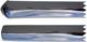 Zierleiste, Seitenwand hinten für links und rechts passend 657264 (1008275) - Volvo 120 130