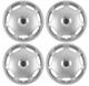 Wheel cover silver 15 Inch for Steel rims Kit 274561 (1009006) - Volvo 700, 850, 900, S40 V40 (-2004), S60 (-2009), S70 V70 (-2000), S80 (-2006), S90 V90 (-1998), V70 P26, V70 XC (-2000), XC70 (2001-2007)