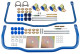 Heavy duty Stabilizer Front axle Rear axle Kit  (1009905) - Volvo 120 130, P1800