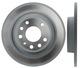 Brake disc Rear axle non vented 12762290 (1010745) - Saab 9-3 (2003-)
