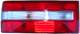 Combination taillight left red-white  (1010947) - Volvo 700