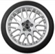 Wheel Center Cap black for Genuine Light alloy rims Piece