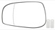 Mirror glass, Outside mirror Driver side 30634719 (1012861) - Volvo S60 (-2009), S80 (-2006), V70 P26, XC70 (2001-2007)
