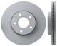Brake disc Front axle internally vented 31362411 (1013168) - Volvo C30, C70 (2006-), S40 V50 (2004-)