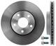 Brake disc Front axle internally vented 31362411 (1013365) - Volvo C30, C70 (2006-), S40 V50 (2004-)