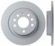 Brake disc Rear axle non vented 12762290 (1013382) - Saab 9-3 (2003-)