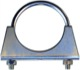 Pipe clamp, exhaust system 45 mm Stainless steel  (1013510) - universal