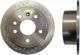 Brake disc Rear axle perforated Sport Brake disc 4241477 (1014682) - Saab 900 (1994-)