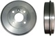Brake drum Rear axle 3450387 (1014783) - Volvo 400