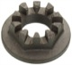Nut, Wheel bearing Front axle M18 1272918 (1015153) - Volvo 200, 700