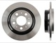 Brake disc Rear axle non vented 9434167 (1015176) - Volvo S60 (-2009), S80 (-2006), V70 P26, XC70 (2001-2007)