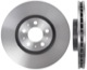 Brake disc Front axle internally vented 31423325 (1015487) - Volvo S60 (-2009), V70 P26, XC90 (-2014)