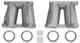 Ansaugkrümmer/ Saugrohr Weber 45 DCOE 152 Satz  (1015572) - Volvo 120 130 220, 140, P1800, P1800ES, PV P210