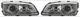 Styling Headlight H7  (1015998) - Volvo C70 (-2005), S70 V70 (-2000), V70 XC (-2000)